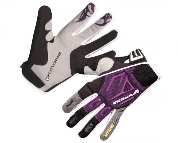 Endura Damen MT500 Langfinger-Handschuhe | lila