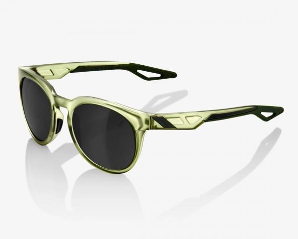 100% Campo - Mirror Lense Fahrrad Sonnenbrille | matte translucent olive slate