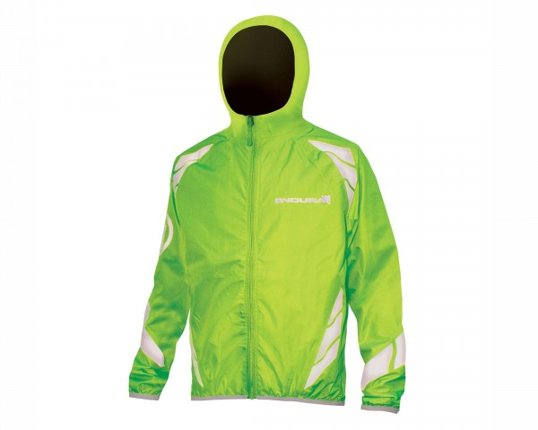 Endura Kids Luminite Jacke II | neon green