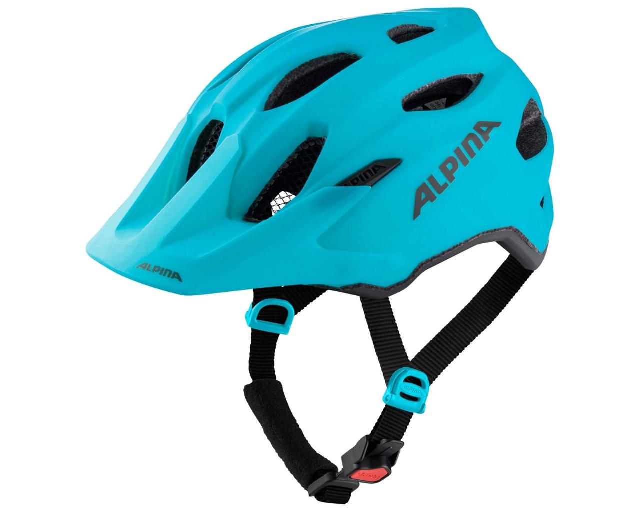 Alpina Carapax Jr. Junior Bike Helmet | petrol matt