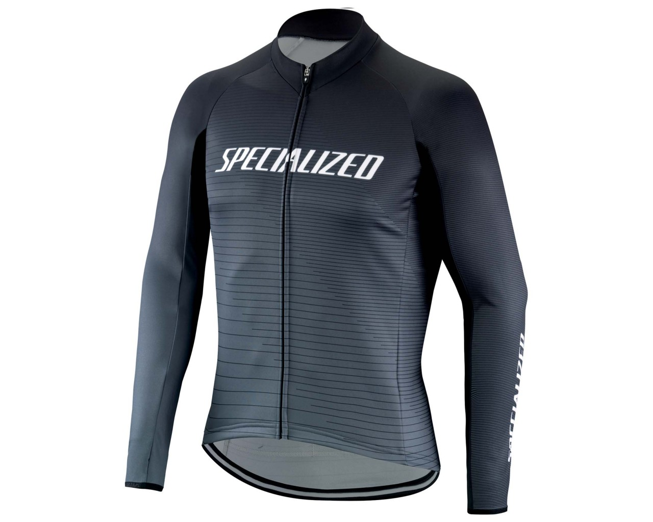 Specialized Element RBX Comp Logo Team Jersey longsleeve | black-charcoal