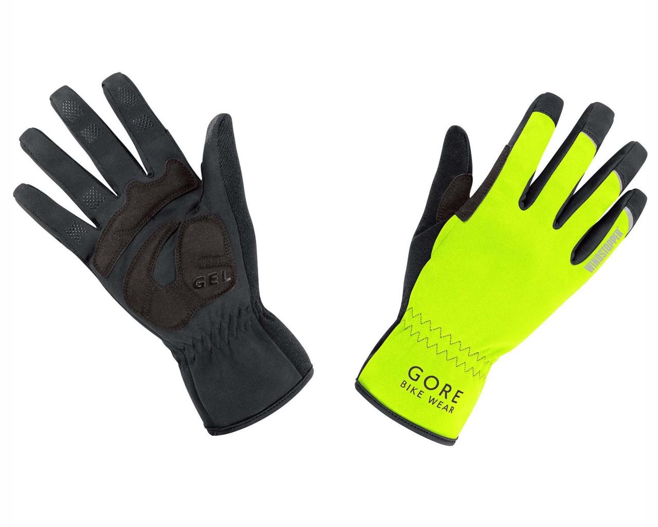 Gore Bike Wear UNIVERSAL WINDSTOPPER Handschuhe   neon yellow-black