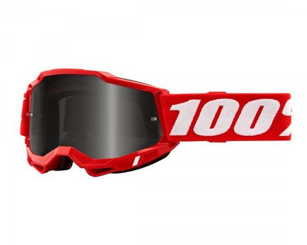 100% Accuri Generation 2 Brille - Antibeschlag und Spiegelglas | neon red