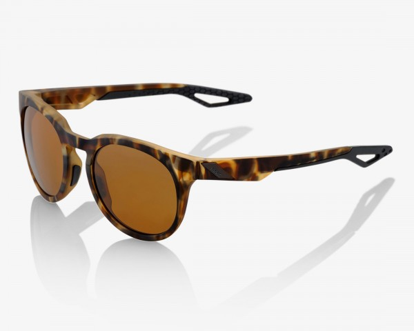 100% Campo - PeakPolar Cycling Sunglasses | soft tact havana