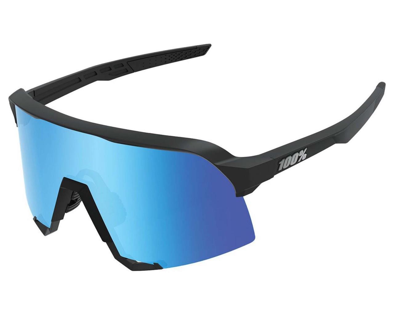 100% S3 - Hiper Mirror Lens Sports sunglasses | matte black