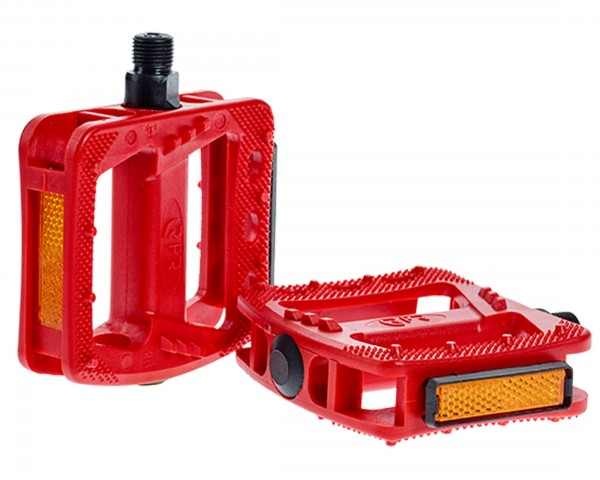 Cube RFR Pedale Flat HQP CMPT | red