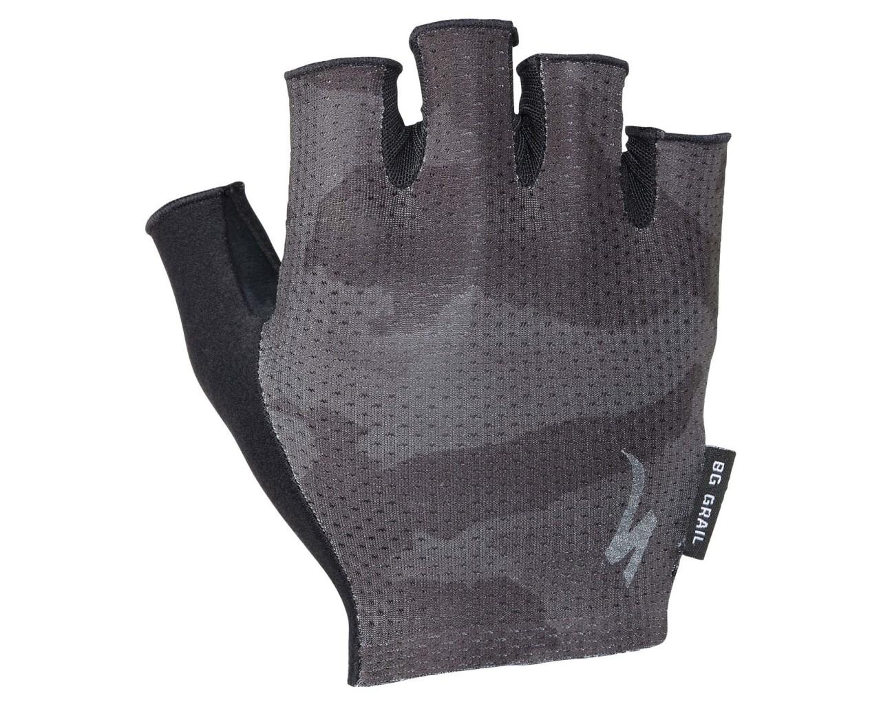 Specialized Body Geometry Grail Handschuhe kurzfinger   black-charcoal camo