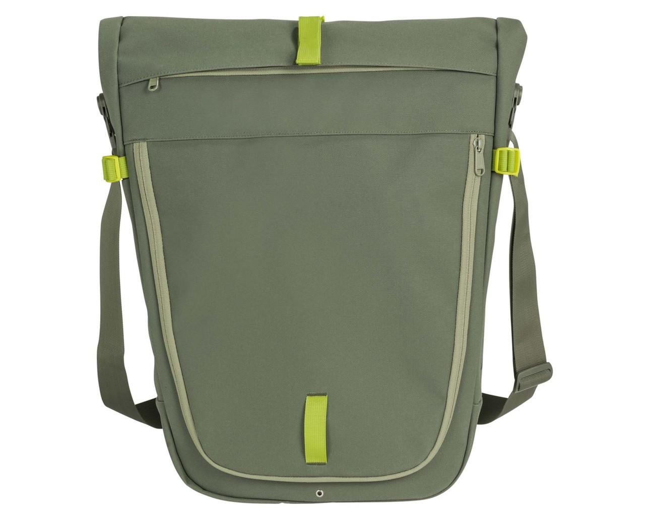Vaude ExCycling Back rear pannier (single bag) | cedar wood