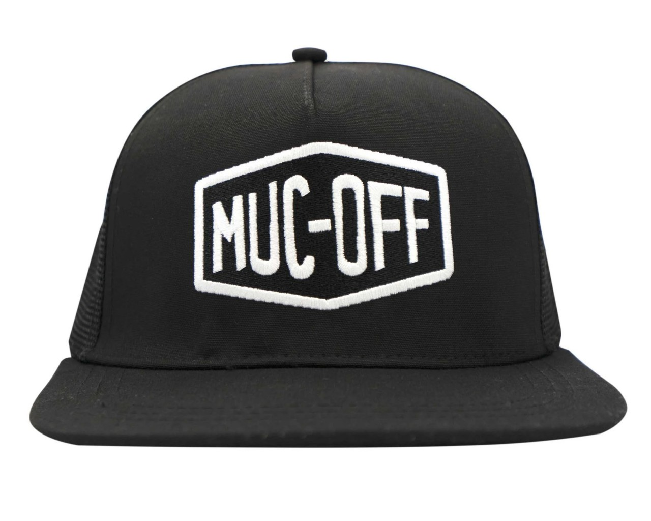 Muc-Off Works Mesh Back Trucker Cap | black
