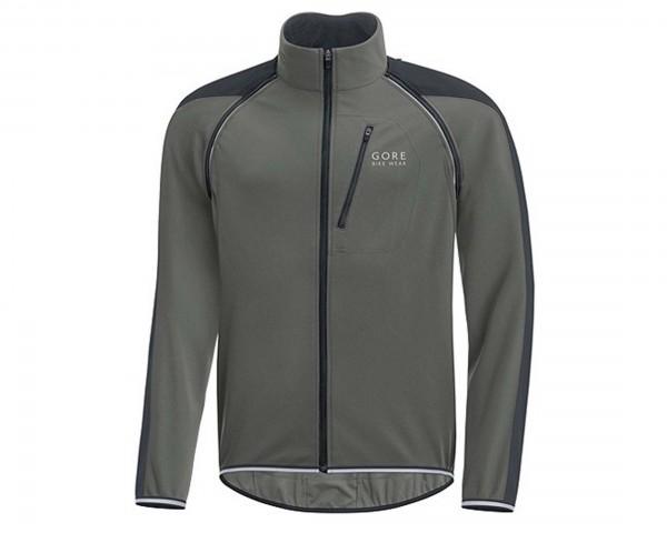 Gore Bike Wear Phantom Plus Windstopper Zip-Off Jacket - Comfort Fit   castor grey-black
