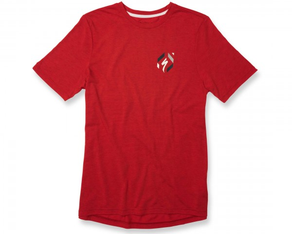 Specialized Drirelease 74 Tee | red heather-cream