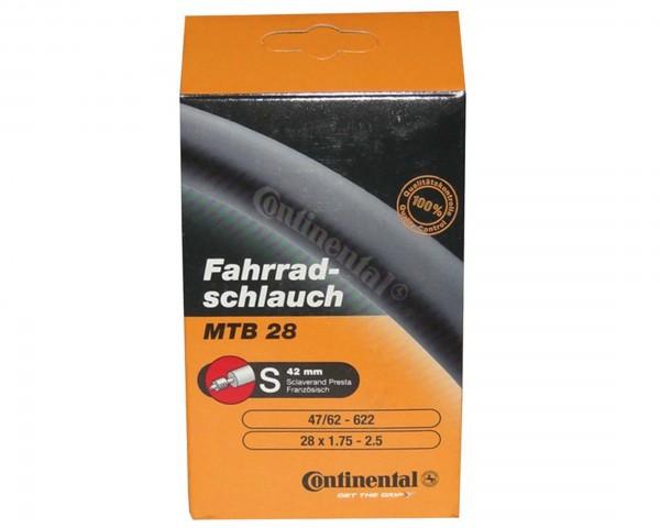 Continental Schlauch MTB light 28/29 Zoll (47/62-622) | SV Französisches Ventil 42 mm