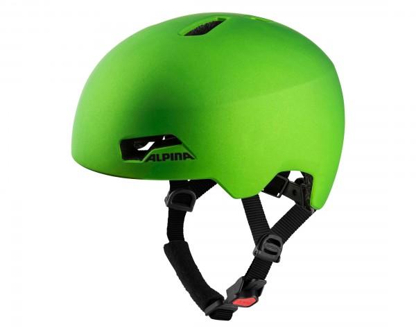 Alpina Hackney Kids Cycling Helmet | green frog