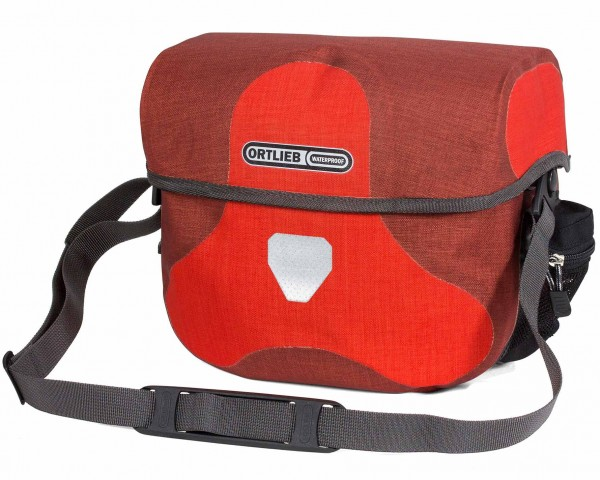 Ortlieb Ultimate Six Plus 7 litres waterproof Bicycle handlebar bag without Mounting Set PVC free   red-dark chili