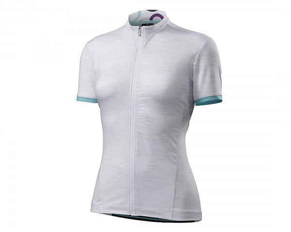 Specialized Womens RBX Comp Jersey kurzarm | light grey-fuschia
