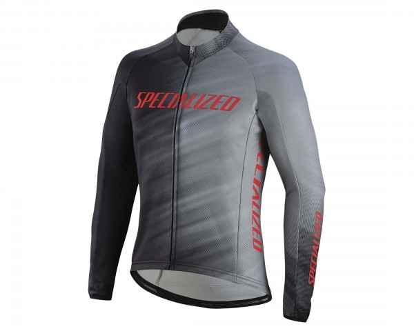 Specialized Therminal RBX Comp Logo Faze Trikot | grey-black faze