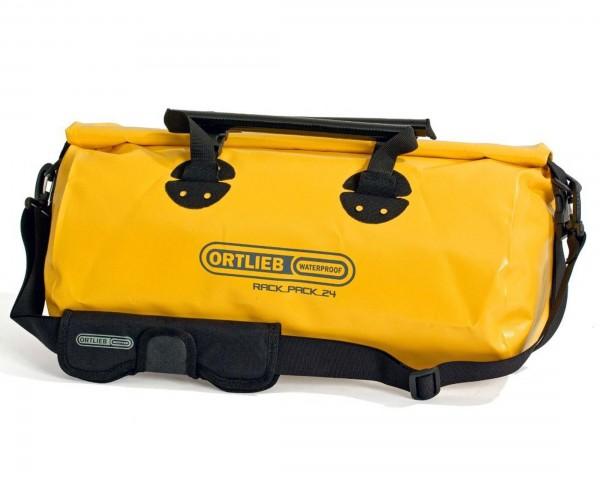 Ortlieb Rack-Pack 24 litres waterproof travel bag | sun yellow