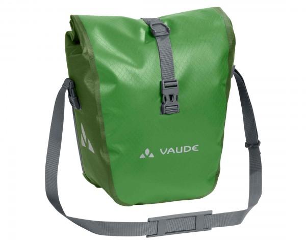 Vaude Aqua Front wasserdichte Fahrradtaschen PVC-frei (Paar) | parrot green