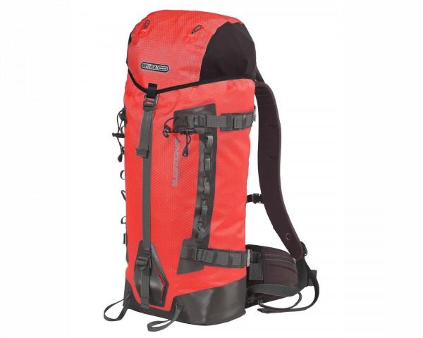 Ortlieb Elevation waterproof backpack 42 liter | signal red