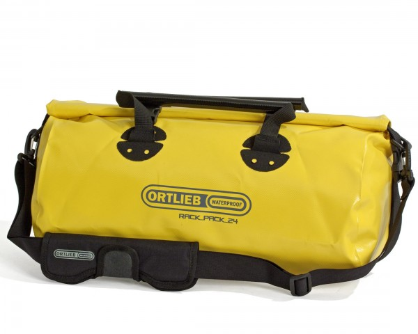 Ortlieb Rack-Pack P620 waterproof bag 24 liter - size S | yellow