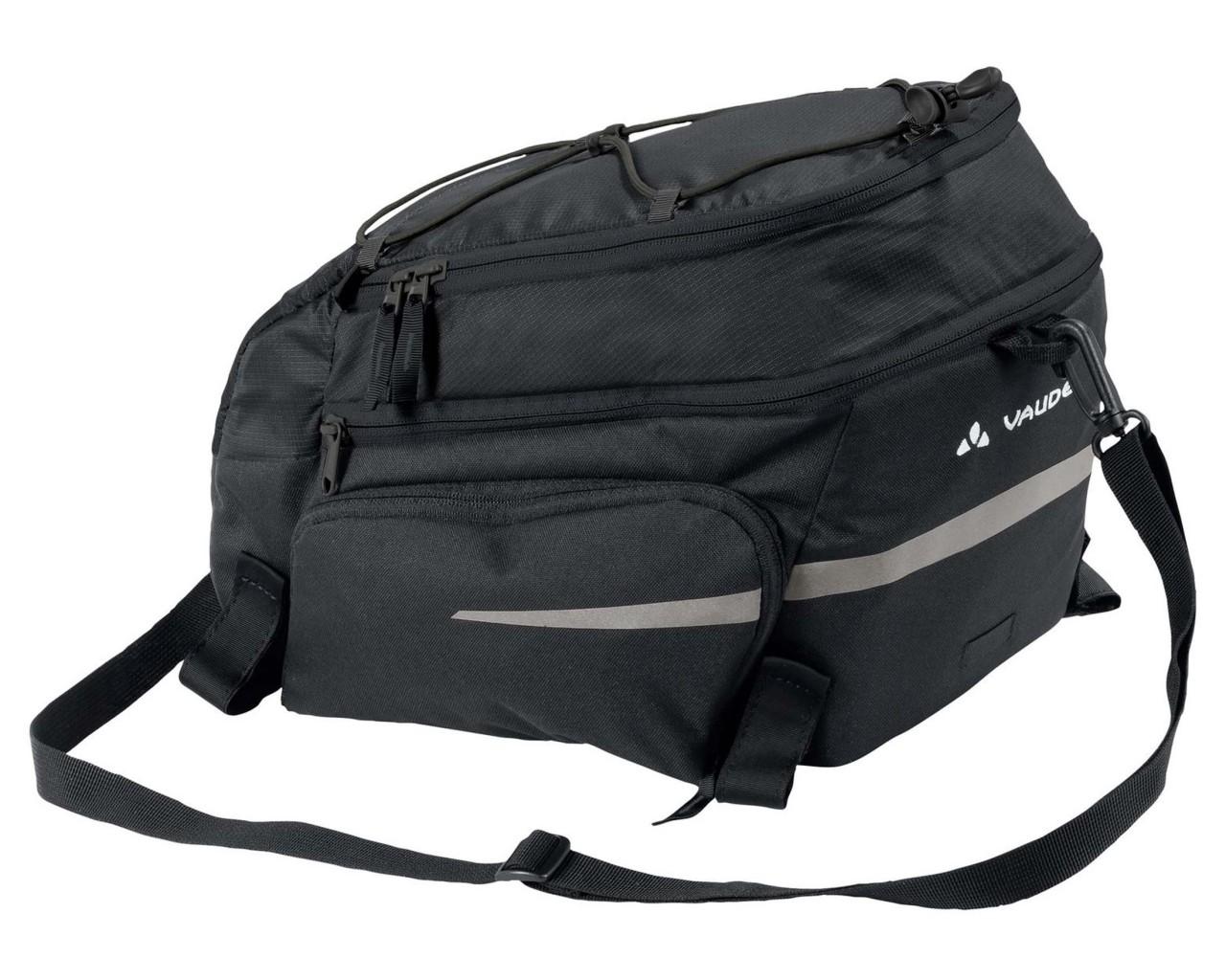 Vaude Silkroad Plus 9+7 liter Fahrrad Gepäckträgertasche   black