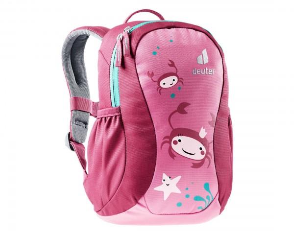 Deuter Pico 5 litres Kids Backpack PFC-free   hotpink-ruby