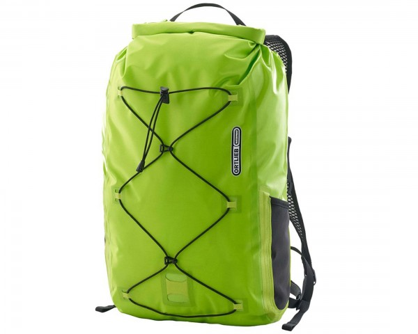 Ortlieb Light-Pack Two waterproof daypack 25 litre PVC-free | lime