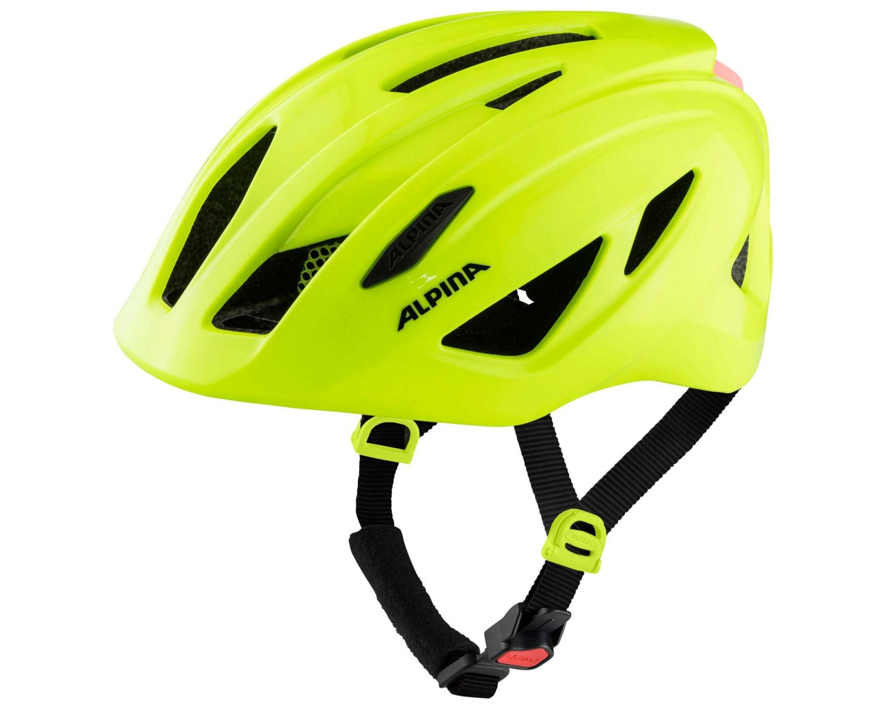 Alpina Pico Flash Kids Bike Helmet   be visible gloss 50-55