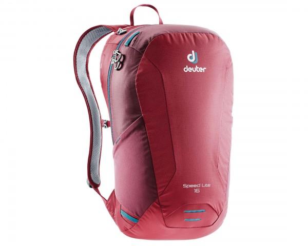 Deuter Speed Lite 16 litre back pack | cranberry-maron