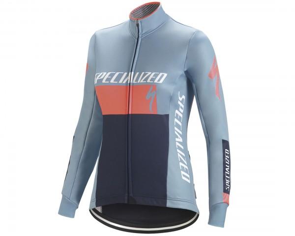 Specialized Element RBX Comp Logo Womens Jacket | blue-coral-blue