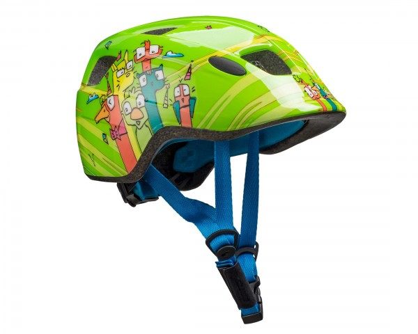 Cube Kinder Fahrradhelm Pebble | green friends