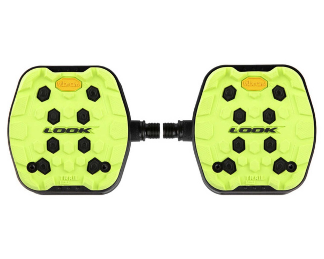Look Trail Grip MTB-Plattformpedale | lime