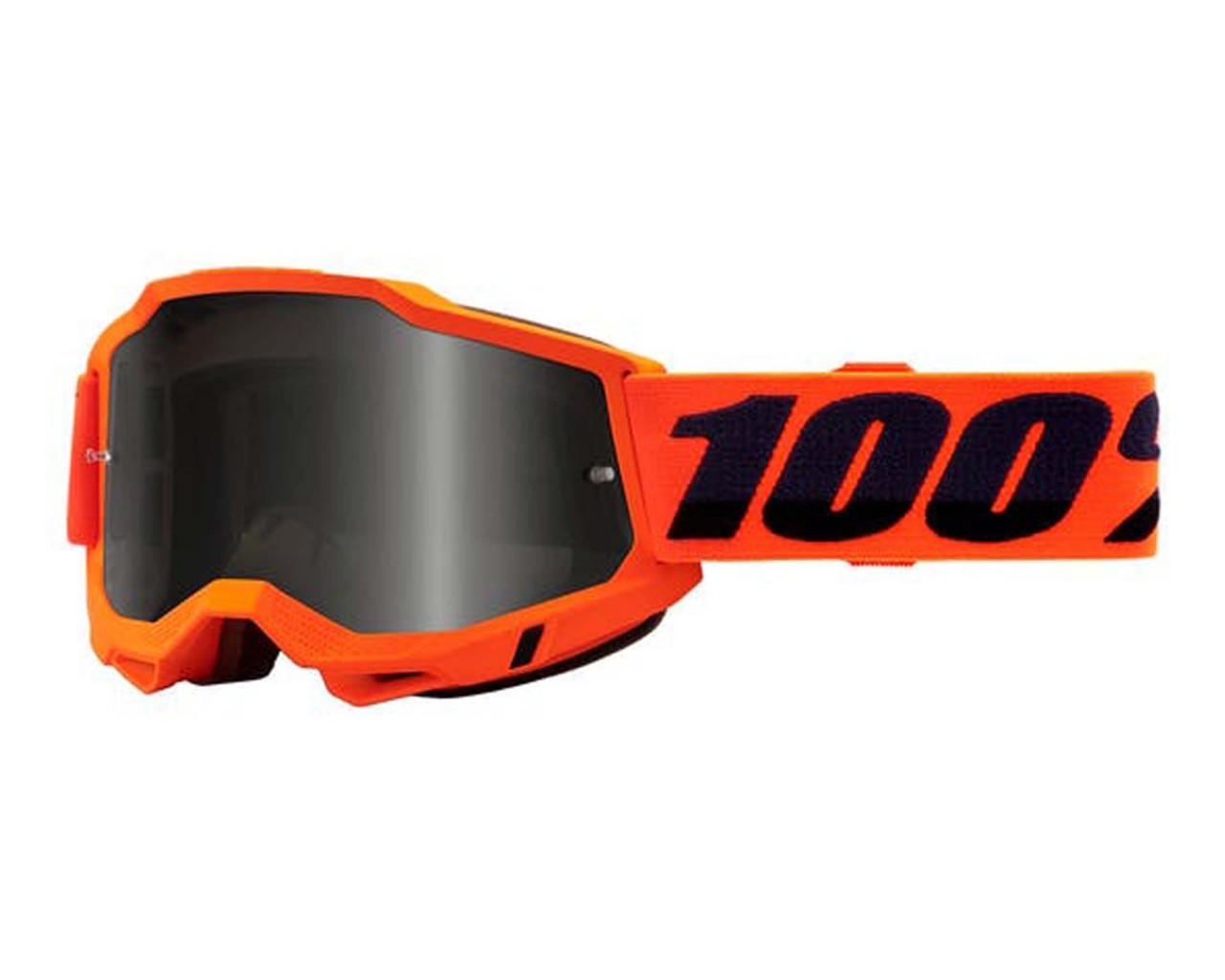 100% Accuri Generation 2 goggle - anti fog mirror lens | Neon Orange