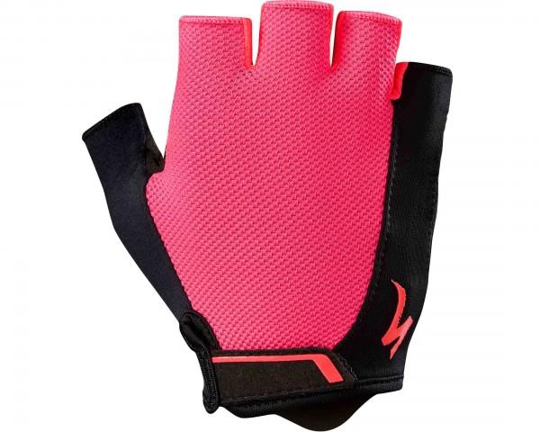 Specialized Womens BG Sport short finger gloves | acid red