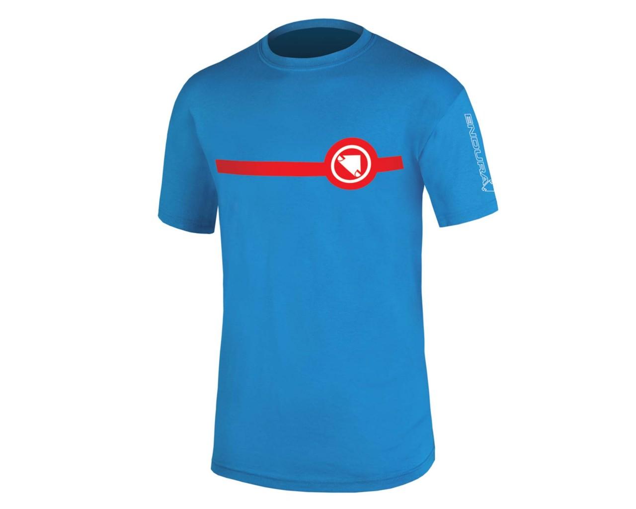 Endura Stripe T-Shirt | ozeanblau