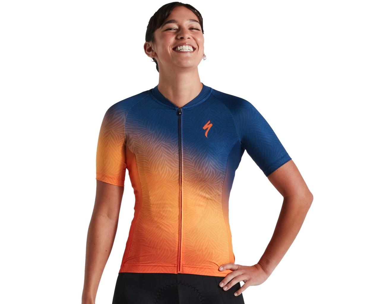 Specialized SL Women Jersey shortsleeve   orange sunset-dark blue
