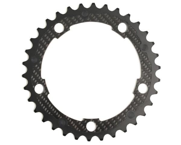 Carbon-Ti X-Ring Road Carbon 5-Arm   135 mm, Carbonkettenblatt Campagnolo kompatibel