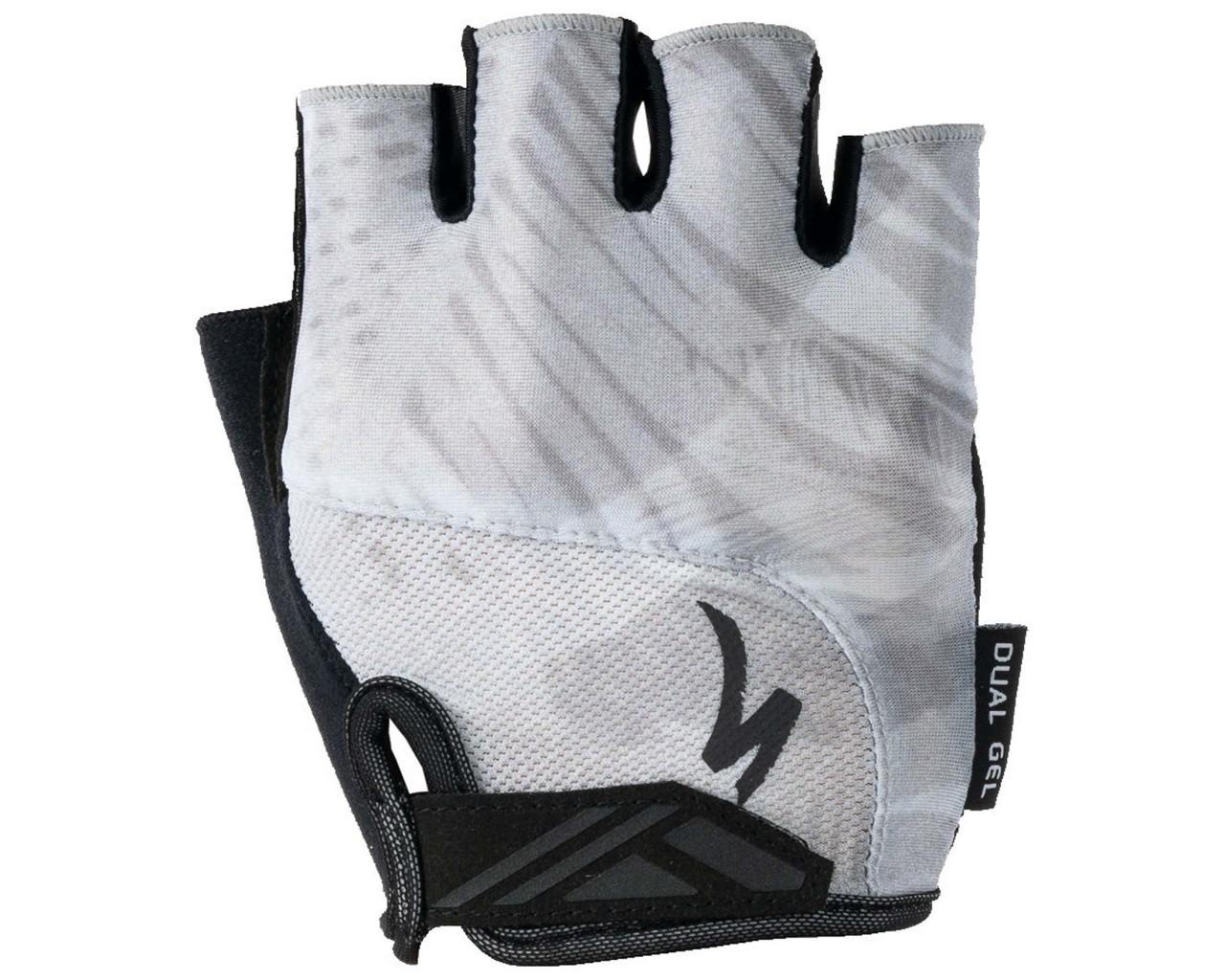 Specialized Body Geometry Dual-Gel Gloves short fingers | dove grey fern