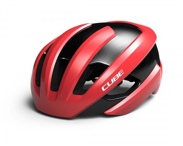 Cube Road Helm HERON | rot
