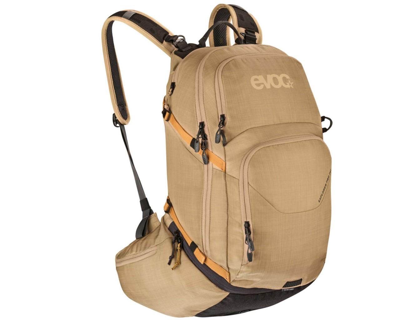 Evoc Explorer Pro 26 litres bike backpack   heather gold