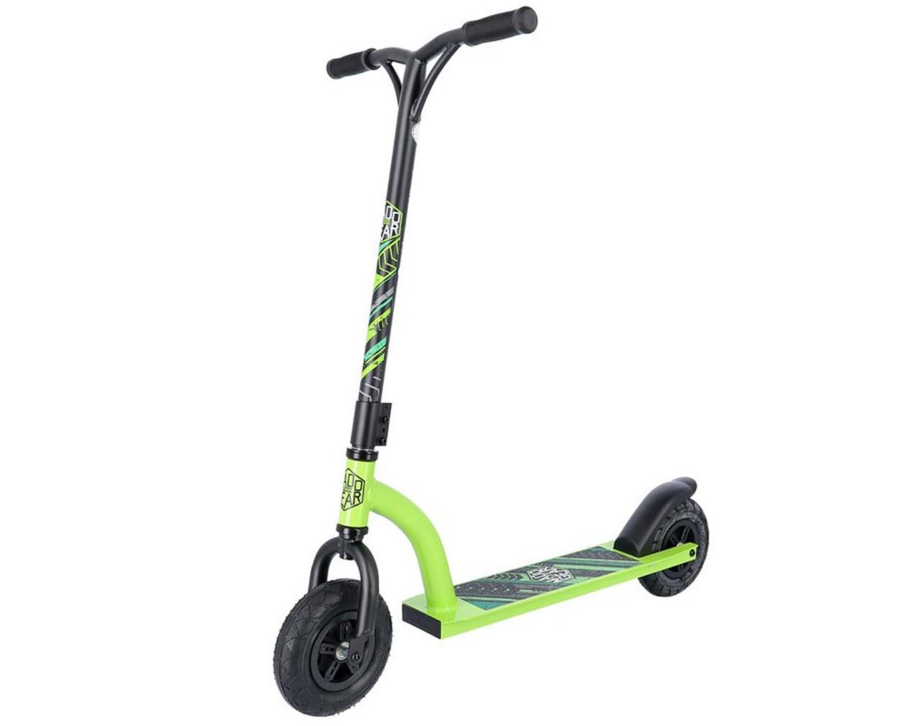 Madd Gear All Terrain Scooter | matt black-green