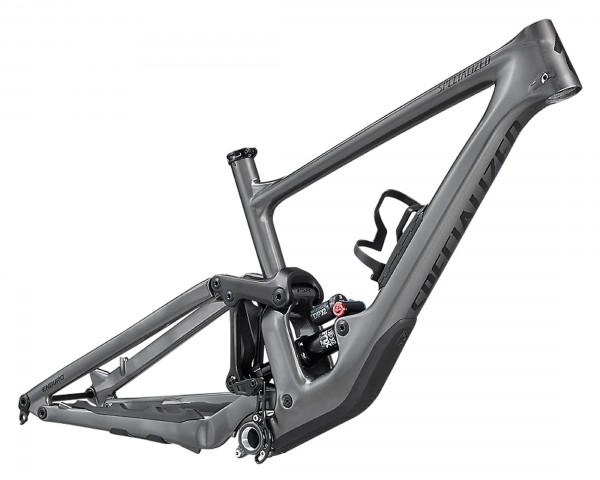 Specialized Enduro Carbon Frameset - MTB Fully 2021 | gloss smoke-tarmac black