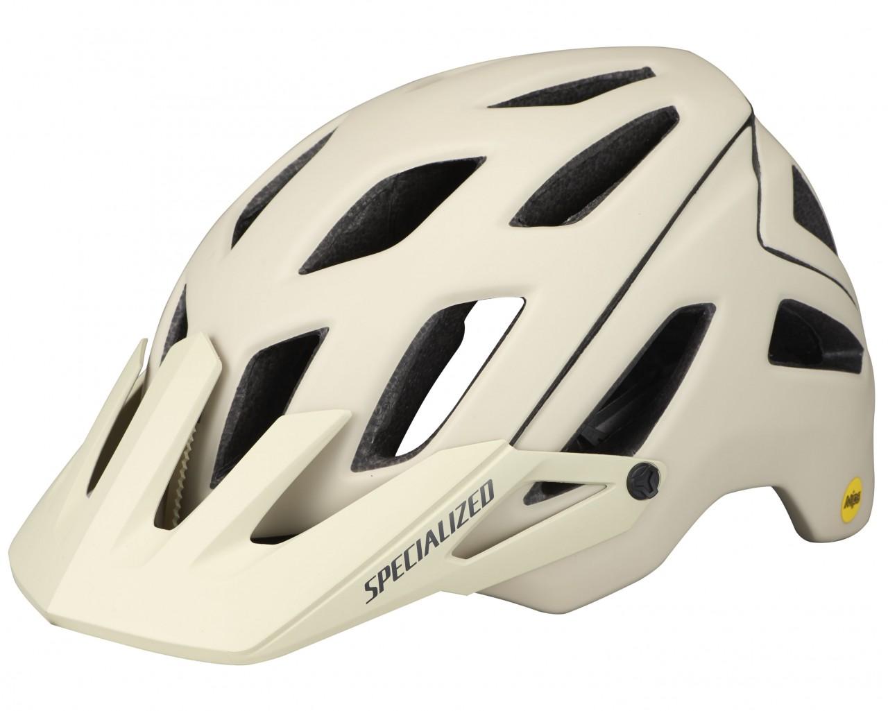 Specialized Ambush MTB Helmet ANGi ready & MIPS | satin white mountains-gunmetal
