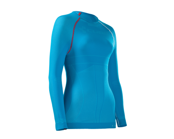 Cube WLS Baselayer L/S Teamline   blue/white/red