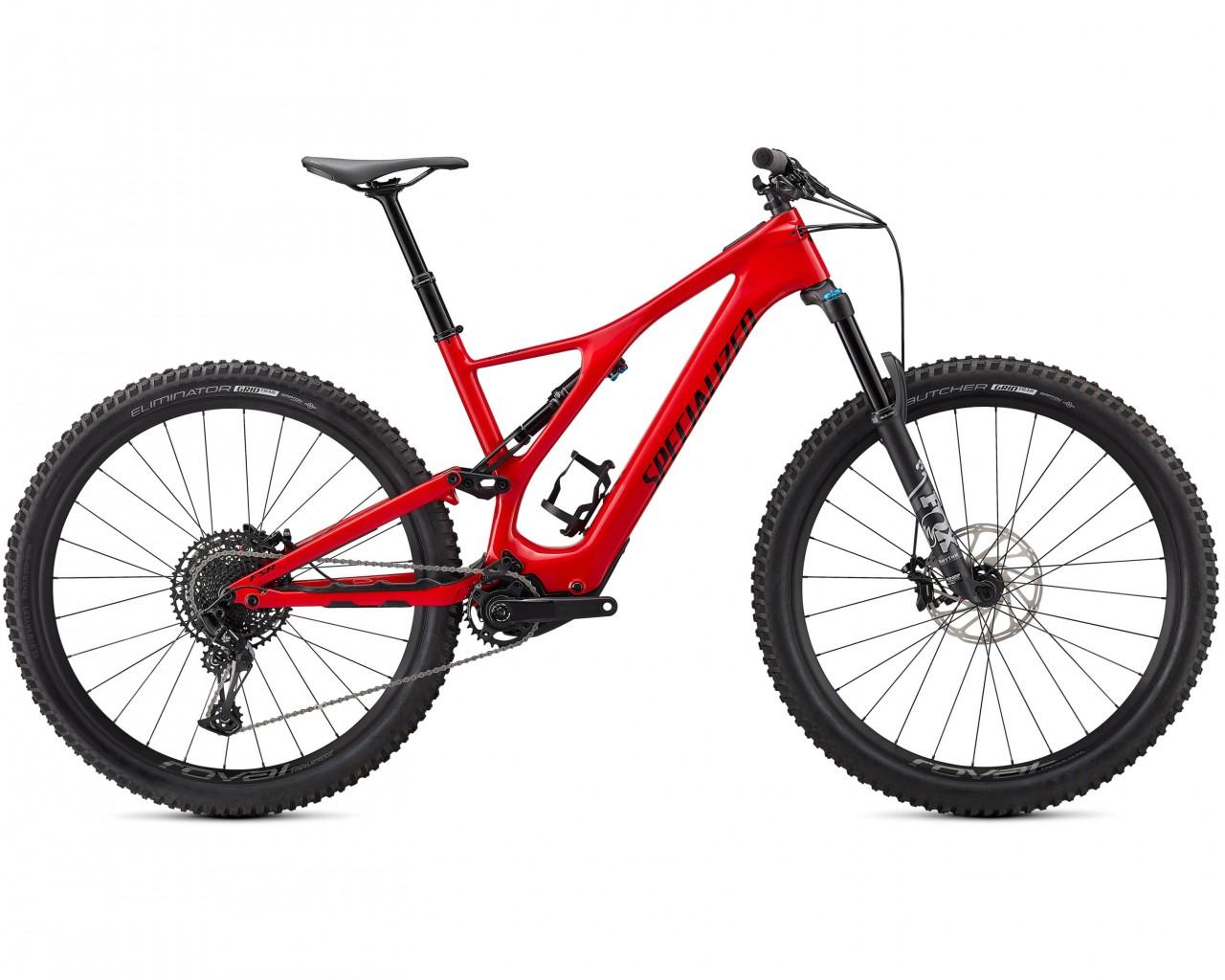 Specialized Levo SL Comp Carbon 29 - Elektro Carbon MTB Fully 2021 | flo red-black