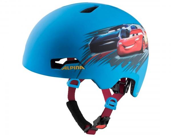 Alpina Hackney Kids Cycling Helmet   Disney Cars