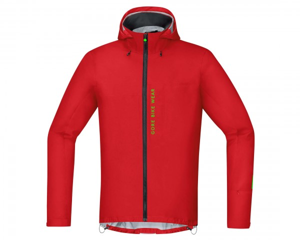Gore Bike Wear POWER TRAIL GORE-TEX Active Jacke Off-Road Ambitious - Passform Slim | red
