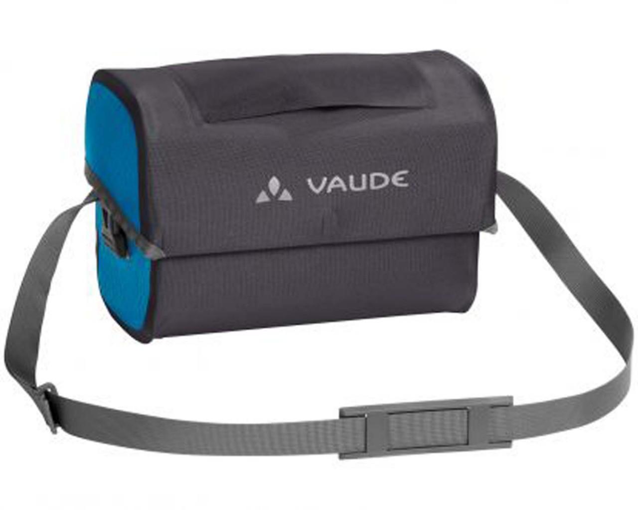 Vaude Aqua Box - wasserdichte Lenkertasche PVC-frei | icicle