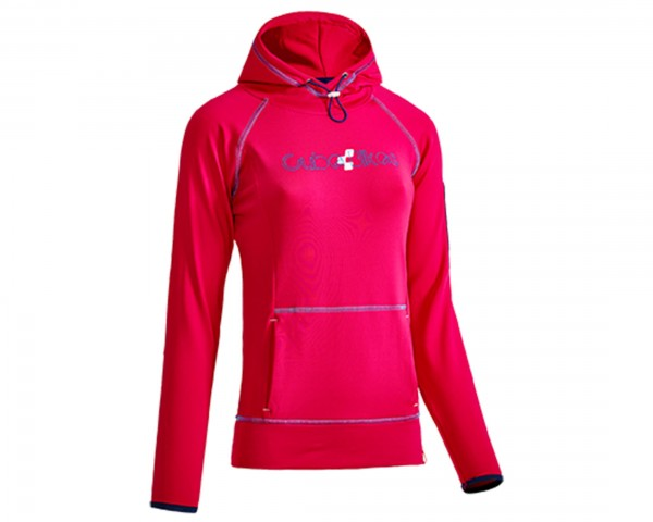 Cube WLS Hoody Woman Race After Race | pink n blue