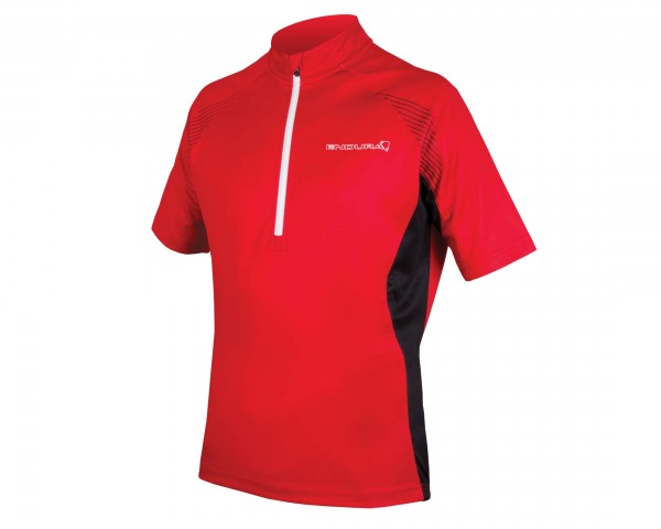 Endura Xtract II Jersey kurzarm | red